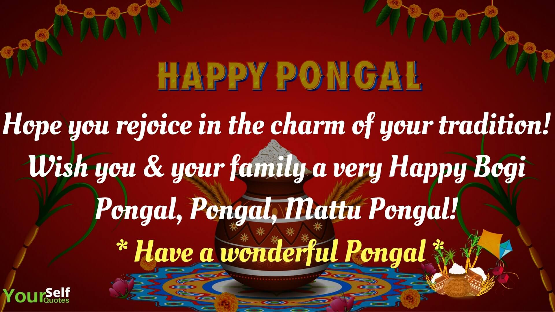 Happy pongal festival wishes 2018 messages greetings images mattu happy pongal festival wishes kristyandbryce Images