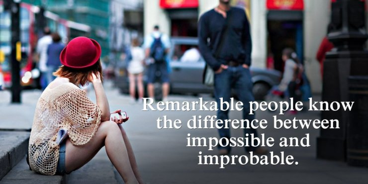 improbable quotes