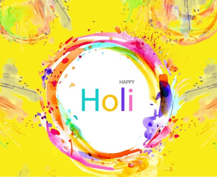 Colourful Life Happy Holi Photos
