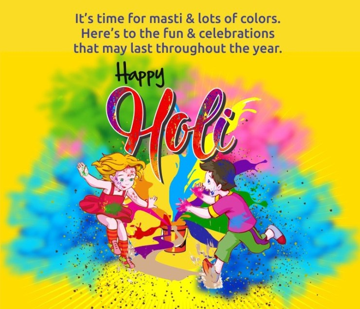 Happy Holi Festival Messages