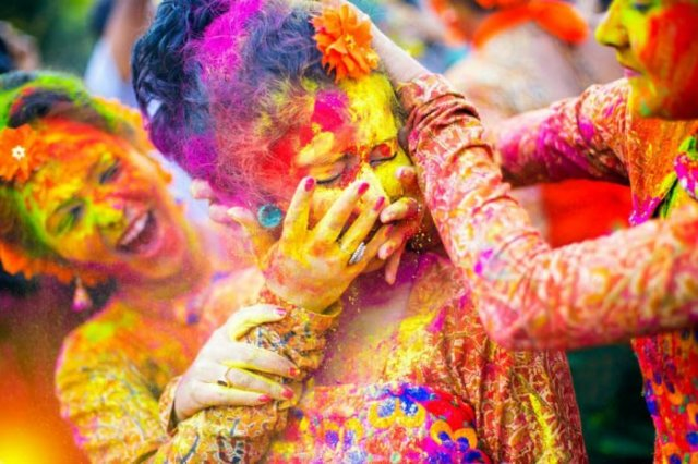 Pictures of Holi Festivals India