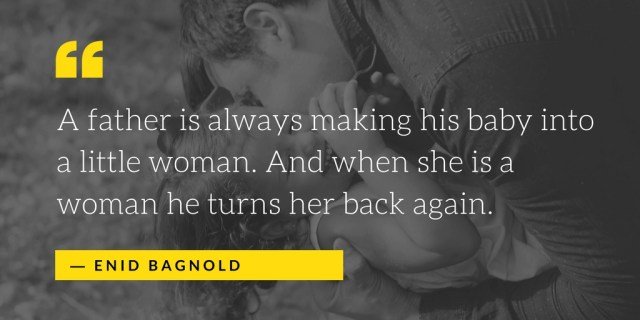Enid Bagnold Quotes on Fathers Day