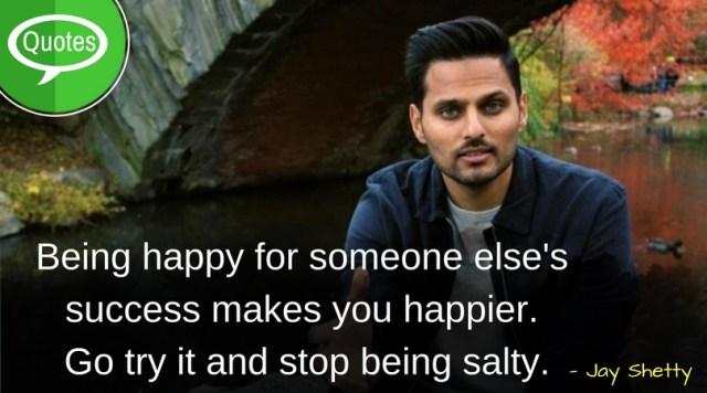 Jay Shetty Happy Quotes