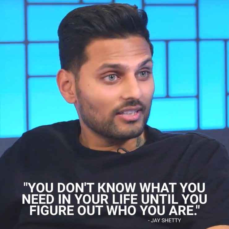 Jay Shetty Quote On Life