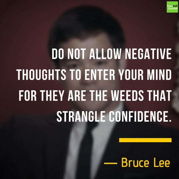 Inspiring Bruce Lee Quote