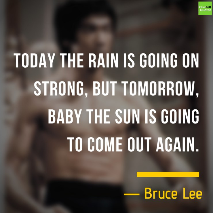 Powerful Bruce Lee Quotes Images
