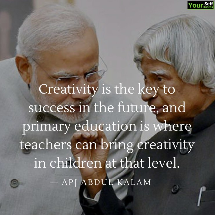 apj abdul kalam teacher quotes