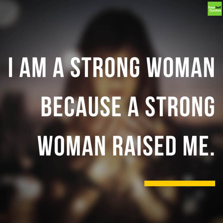 A Strong Woman Quote