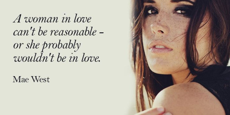 A woman Love Quotes