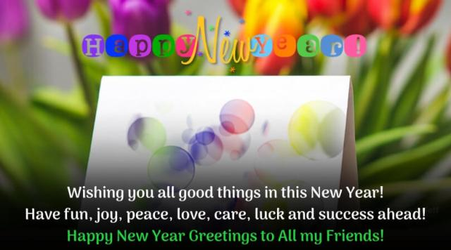 Happy New Year Greetings Images New - Happy New Year Greeting Cards, eCards Wishes & Greeting images