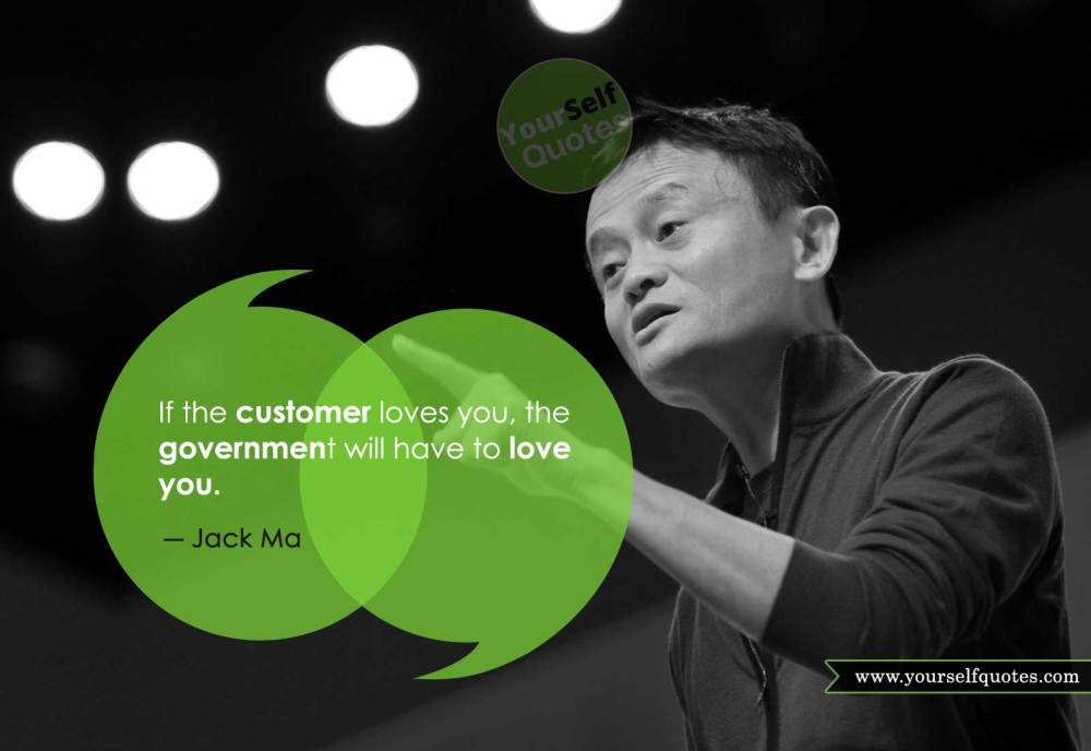 Best Jack Ma Quotes