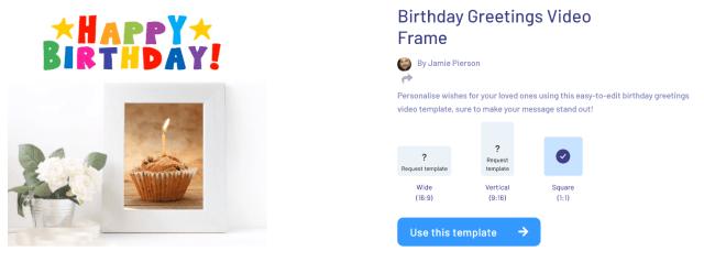 Birthday Greetings Video Frame - How To Make Birthday Video Presentation Online In Easy Steps