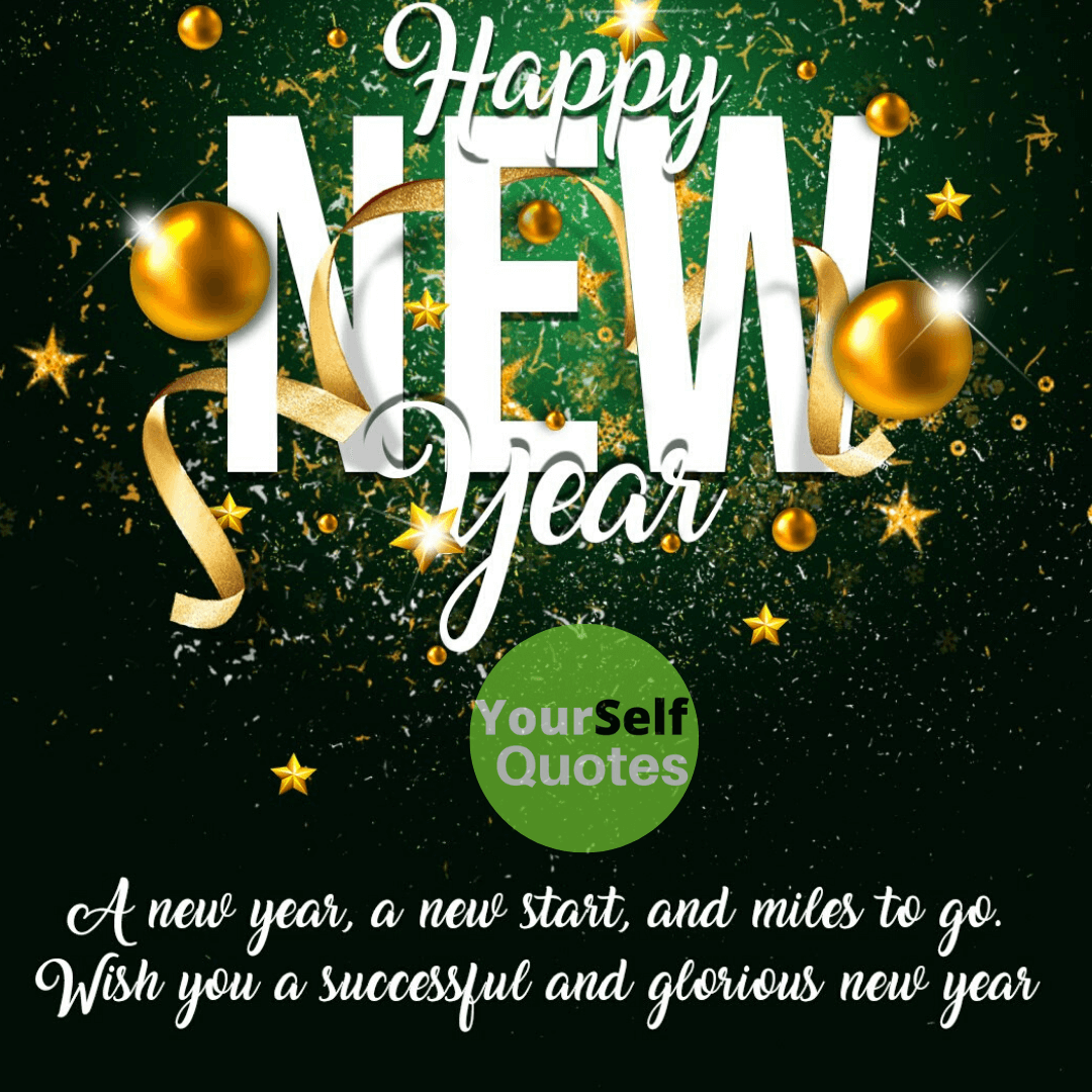 New Year Wishes Images with New Start