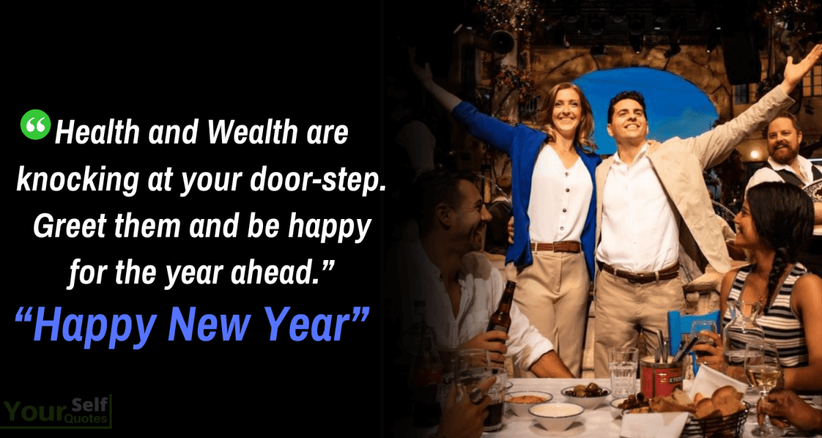 New Year Wishes on Health Wealth