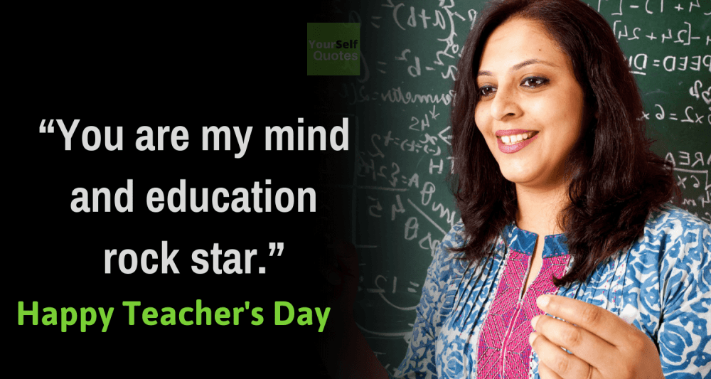 Teachers Day Wishes Quote