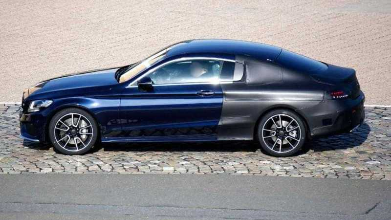2016 Mercedes C-Class Coupe C63 AMG Spy Photos