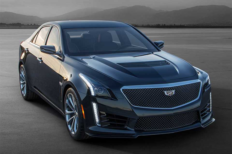 2016 Cadillac CTS V Delivers Breathtaking Performance and Ample Space than the CTS