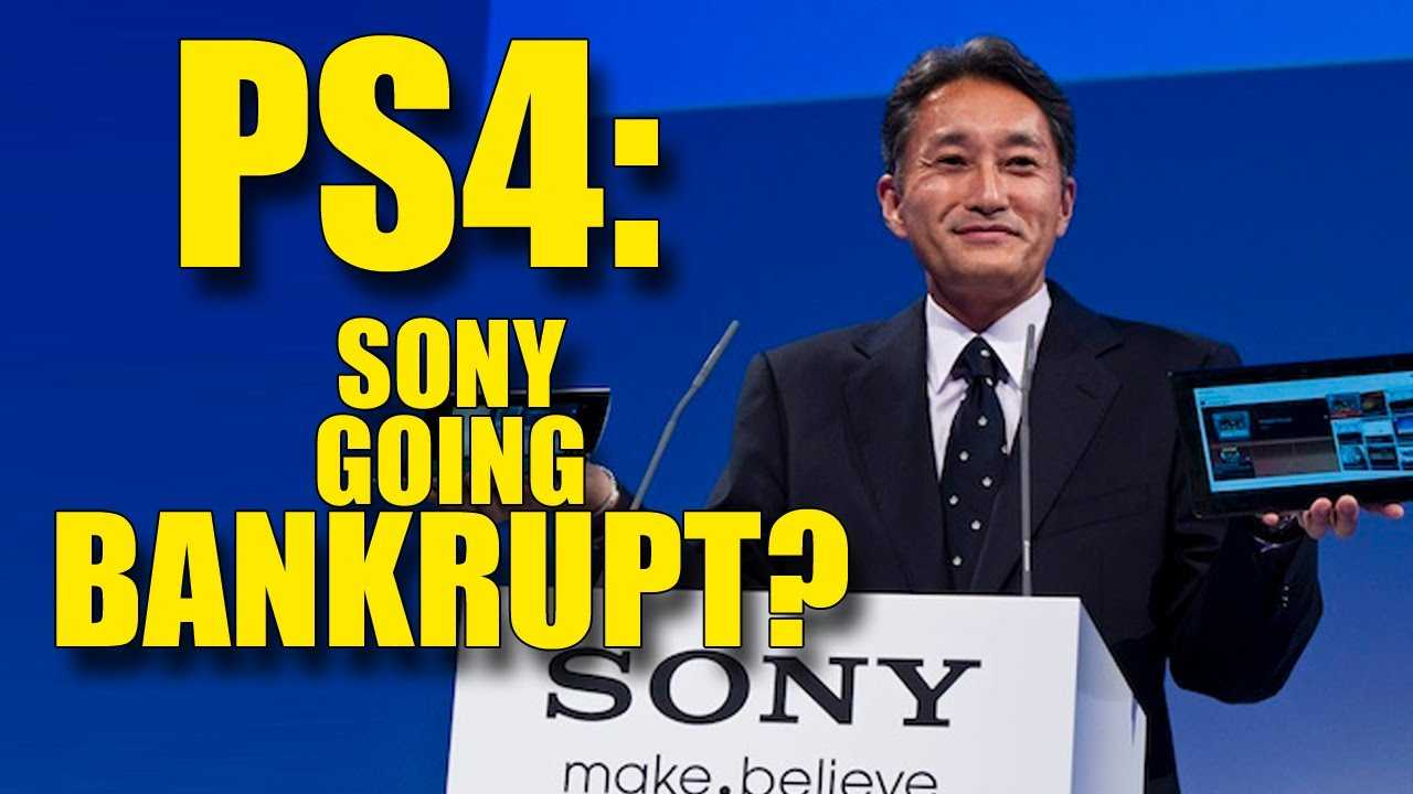 PS4 Saves Sony from Going Bankrupt, Mobile Sales Decrease