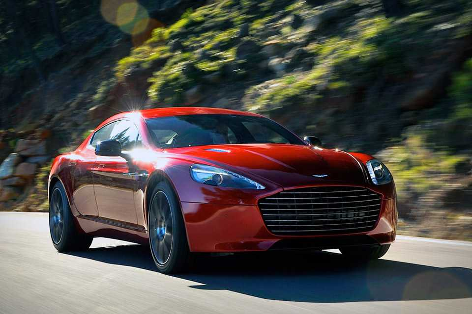 Aston Martin Showcases Electric Rapide Concept Car for the First Time