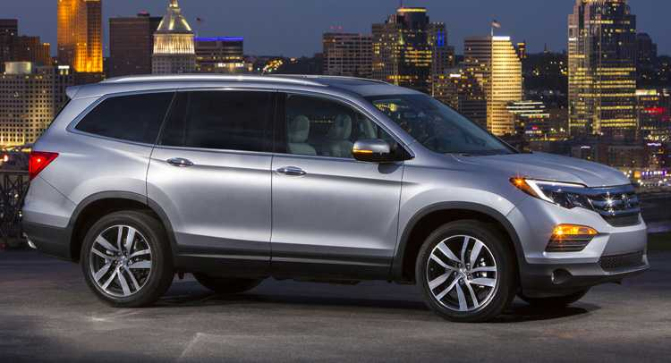 Revamped 2016 Honda Pilot with Novel Features and Added Power Unveiled as Smart Family SUV