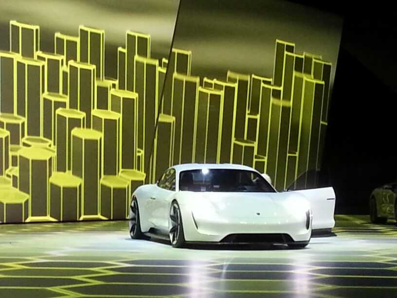 Porsche Mission E Concept is a Beginning of a New Era