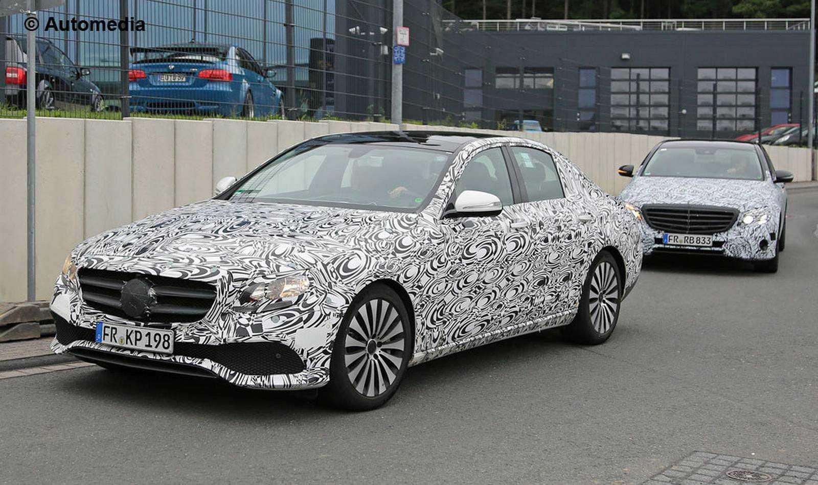 2016 Mercedes Benz E-Class Gets New Interiors Inspired by Their S-Class