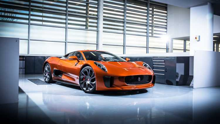 Jaguar's First Electric Car in 2017 Will be a SUV Inspired by C-X75