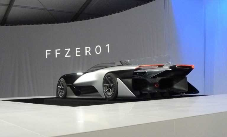 CES 2016: Faraday Future Shows a 1000 HP Supercar with Ridiculous Design