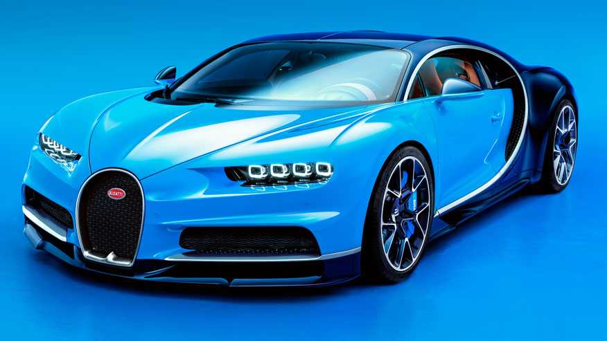 Bugatti Chiron with 1,500 HP is World's Fastest Car, Costs $2.5M