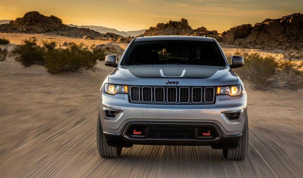 Jeep Grand Cherokee Trailhawk Official Pictures Leaked