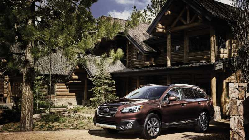 2017 Subaru Outback Touring front