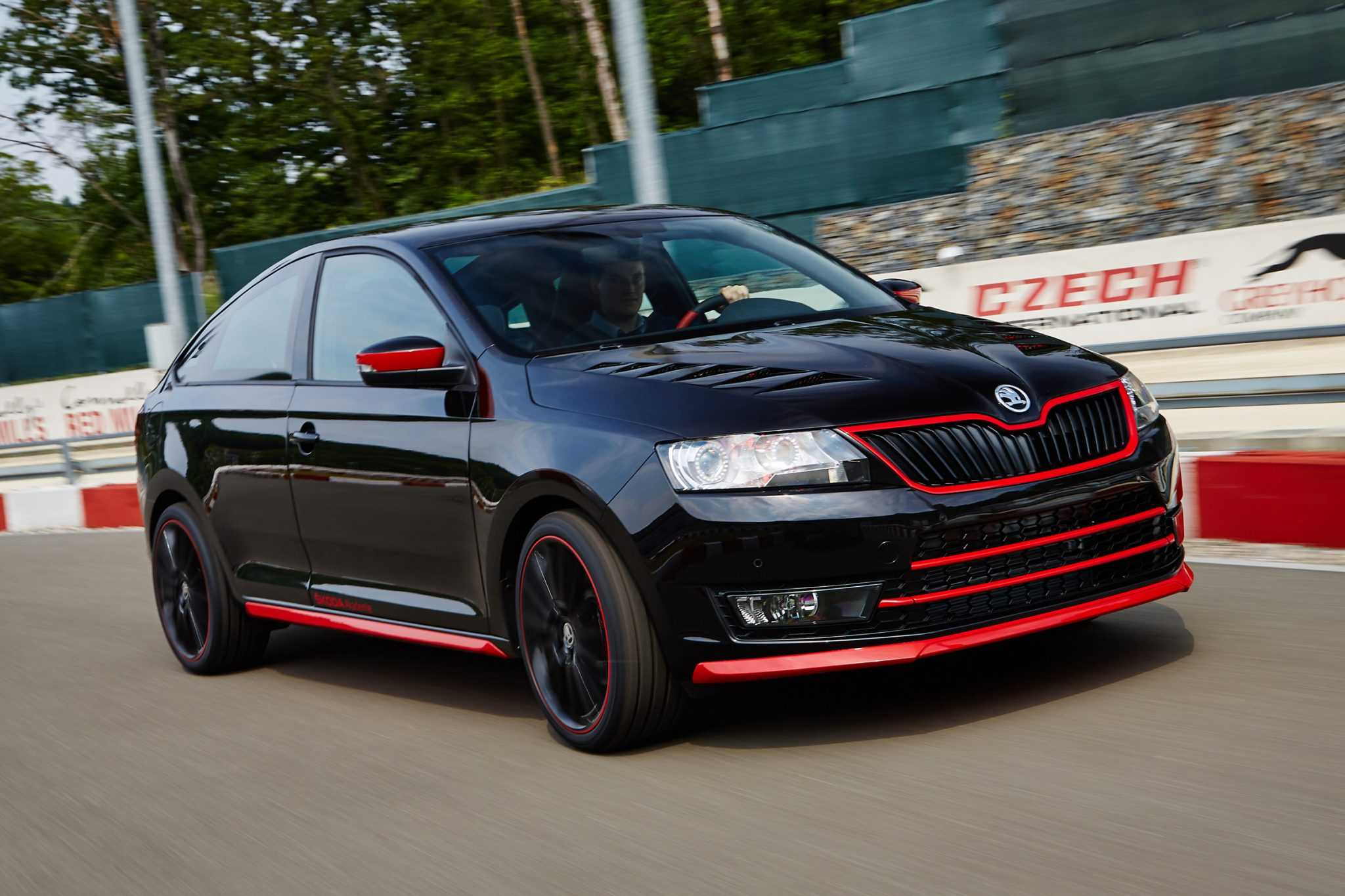 Skoda Reveals Atero, A Racy Rapid Coupe With Fast Performance