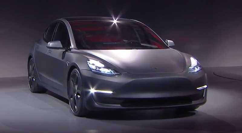Tesla Model 3 Style is Still In Its Early Stages, To Be Finalized This Year
