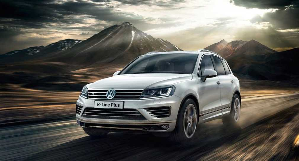 Top End Volkswagen Touareg R-Line Plus Revealed