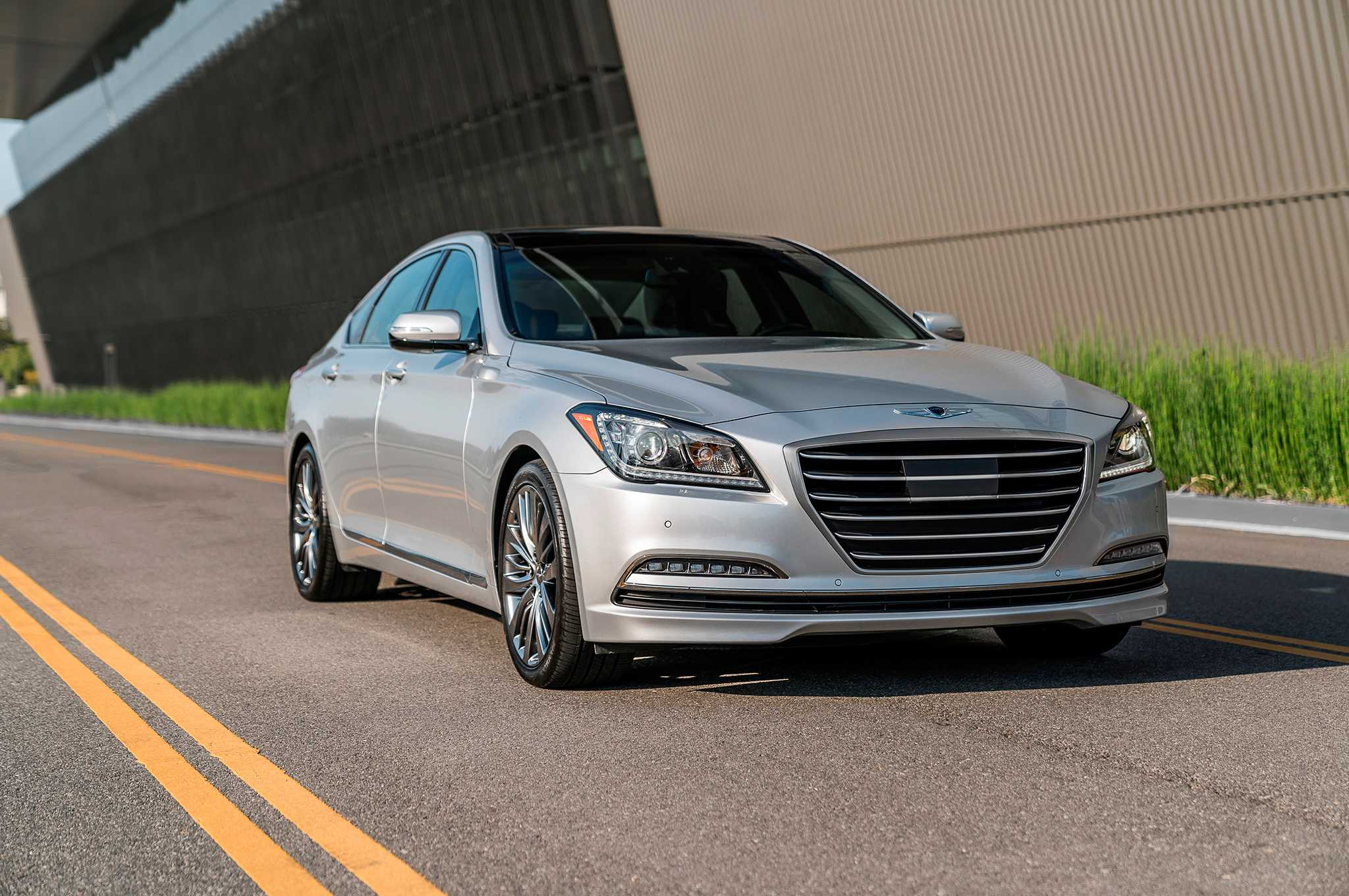2017 Genesis G80 Upgraded With Active Safety Features