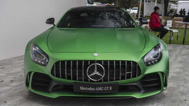 2018 Mercedes AMG GT R Spotted At Monterey Car Week