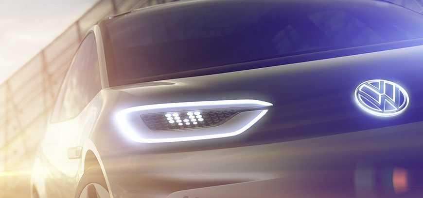 Volkswagen Released New EV Teaser Pic Ahead of Paris Expo