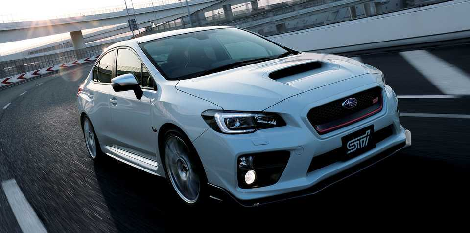 Subaru WRX S4 tS Sedan