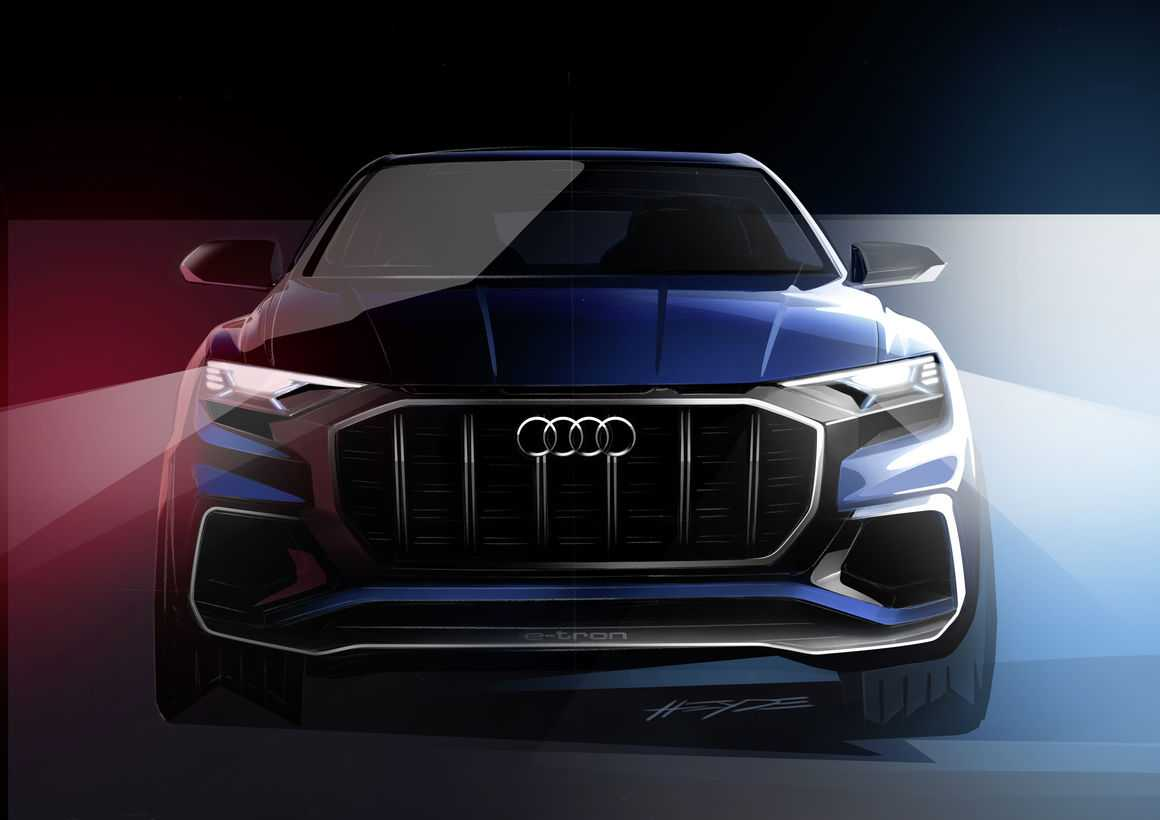 2017 Audi Q8 Concept Teaser Released, Official Reveal at Detroit Auto Show