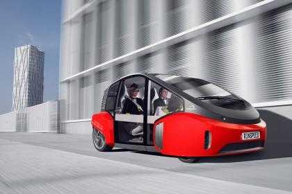 Future EV Car Rinspeed Oasis Concept Features 5K Display and Bonsai Garden