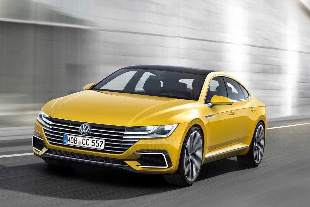 Volkswagen Arteon Four Door Coupe Spy Shots Reveal Car Design