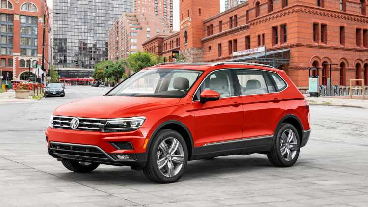 2018 Volkswagen Tiguan Allspace is a Large Crossover with a Third Seating Row