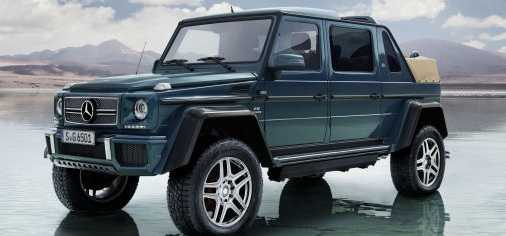 Mercedes Maybach G 650 Landaulet Limited Edition Offers the Best of Off-Road Luxury