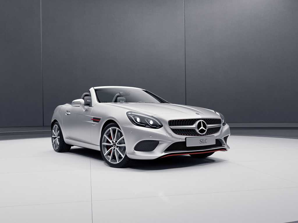 Mercedes Benz-AMG Launch SLC RedArt and SL designo Edition in Europe