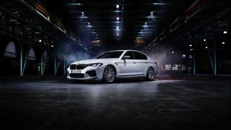 BMW M5 M Performance parts