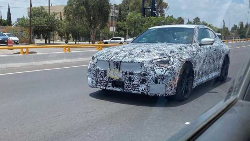2022 BMW 2 Series Coupe G42 Spy Shots Reveal Interior Design for the First Time