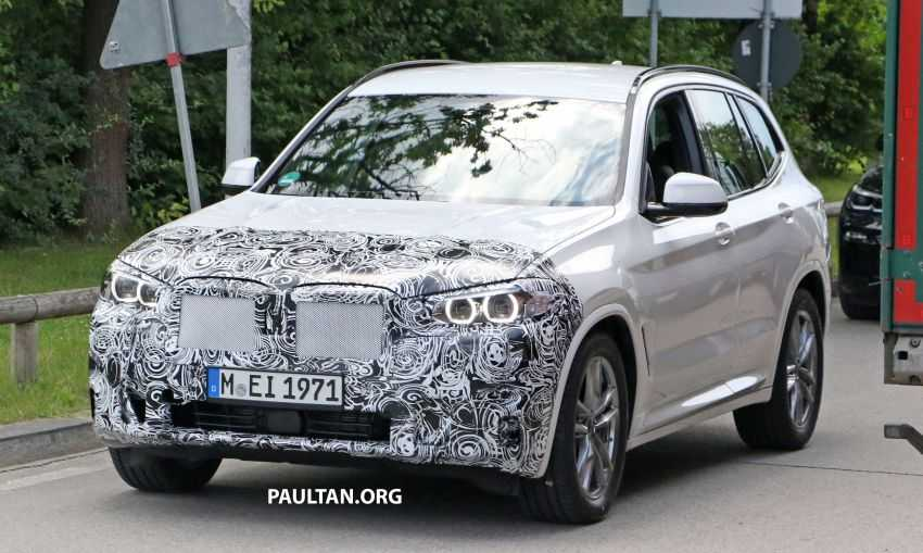 G01 BMW X3 LCI Spy Shots Spotted, Revamped Design Expected