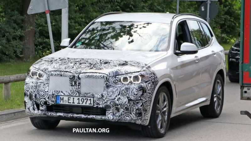 BMW G01 X3 spy shots