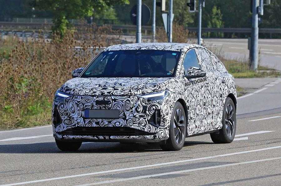 2021 Audi Q4 E-Tron Spotted Camouflaged, Hitting Stores Next Year