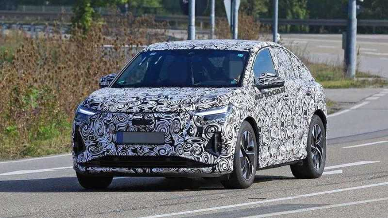 Audi Q4 E-Tron Spotted Camouflaged